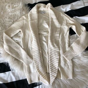 Chartar Club Ivory knitted cardigan
